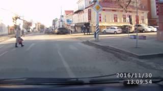 Если пешеход не остановился бы...