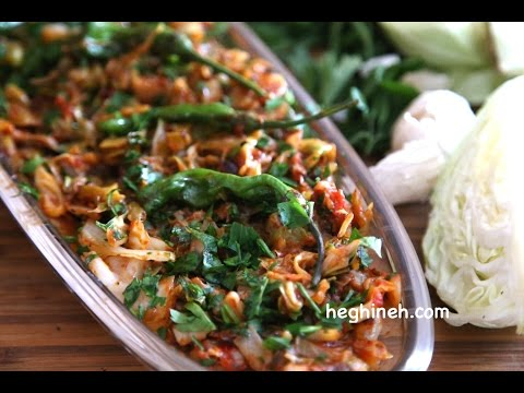 Sauteed Cabbage Recipe – Healthy Easy Vegetarian Recipes – Heghineh Cooking Show