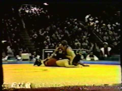 1996 Olympic Games: 62 kg Aroutioun Barseguian (CYP) vs. Marty Calder (CAN)