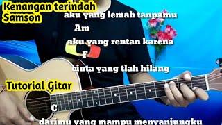Chord Gitar Samson Kenangan Terindah - Tutorial Gitar Mudah By Darmawan Gitar