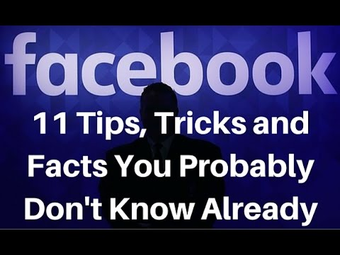 Latest Facebook Tricks in Hindi || 11 Amazing Tips, Tricks and Facts about Facebook 2017