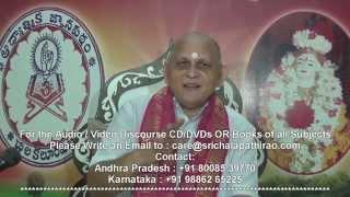 Brahma Sutramulu : Day 12 : CH03 Padam1 : Sutram 12 13 : Sri Chalapathirao