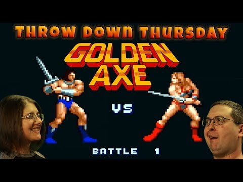 Play Golden Axe - THROW DOWN THURSDAYS - Eric & Mary Let's Play Part 3 - SEGA Genesis