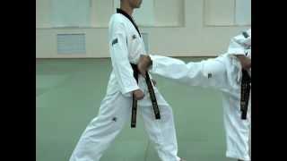 Taekwondo WTF.Стопа.