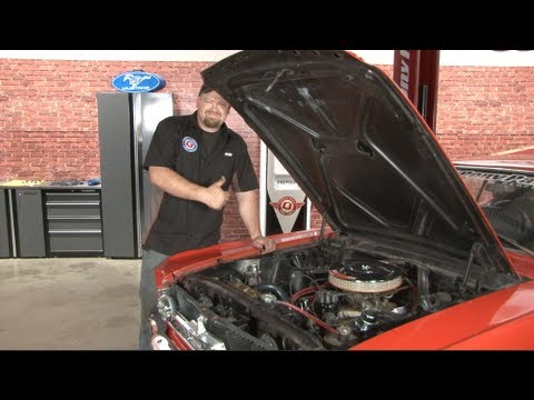 1966 Mustang Parts >> Mustang Tune-Up and Pertronix Ignitor 1965 without tach Installation - YouTube