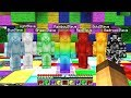 RAINBOW STEVE SUMMONED ALL STEVES AT ONCE IN MINECRAFT! *SCARY*