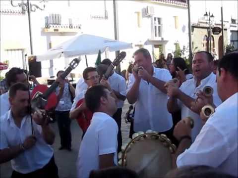 Traditional music at Moclinejo village, Malaga region, Spain