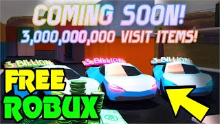 🔴 FREE ROBUX GIVEAWAY!! | Roblox Jailbreak NEW UPDATE!!! hype!! | NEW GUN, ITEMS, WEAPON! | Live 🔴