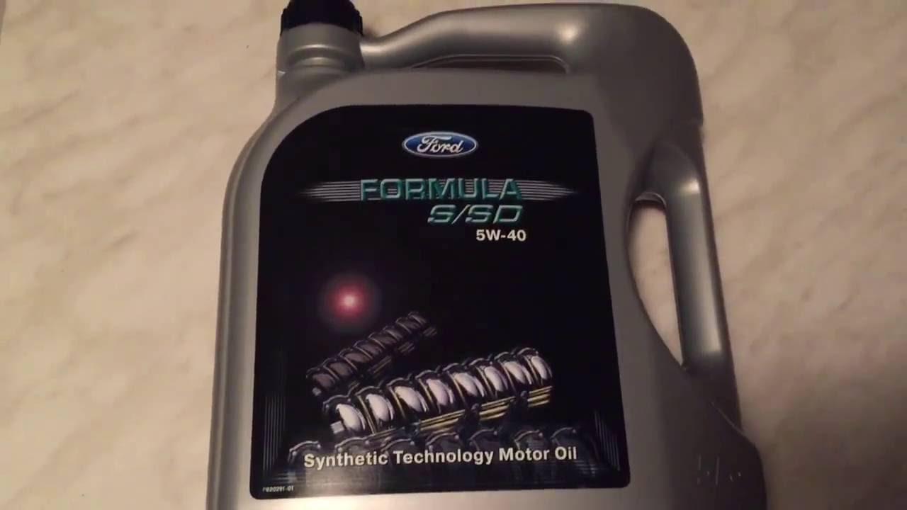 масло ford formula 5w40 5л