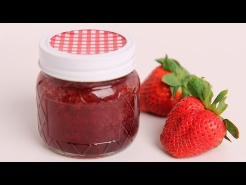Homemade Strawberry Jam Recipe - Laura Vitale - Laura in the Kitchen Episode 386