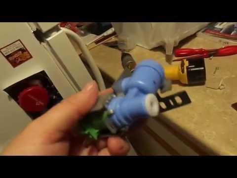 water supply hook up refrigerator