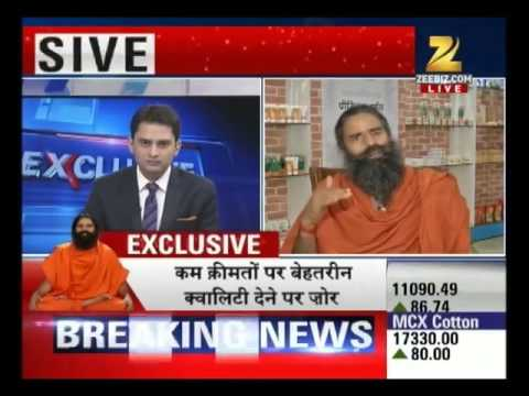 BaBa Ramdev ANSWER on how much JOBS his PatanjaLi will provide to INDIAs Youth