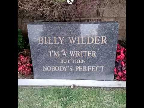 Billy Wilder - GraveTour.com - Take a famous grave tour!