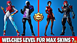 Fortnite: WHAT LEVEL FOR MAX ROX SKIN ? | Skin Level Season 9