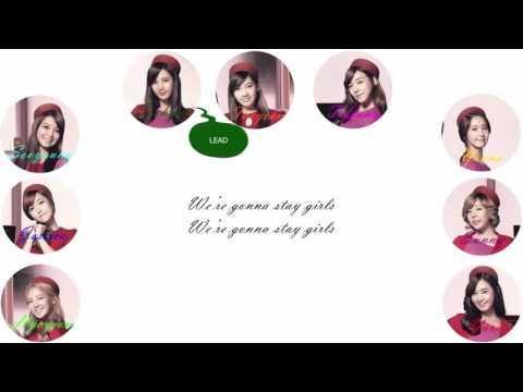 Girls' Generation (少女時代) - Stay Girls Lyrics [Color Coded/ROM]