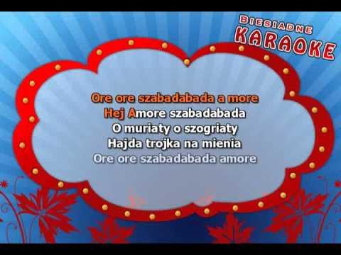 Karaoke dla dzieci - My Cyganie, Ore ore - z linią melodyczną