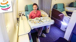 Korean Air First Class 777-300ER ICN-KUL | GlobalTraveler.TV