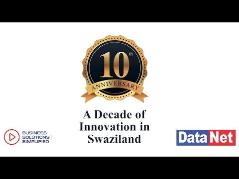 DataNet - A decade of innovation in Swaziland