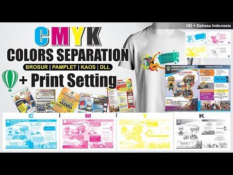 [MUDAH] CMYK Color Separation + Print Setting in CorelDRAW - Tips & Trik