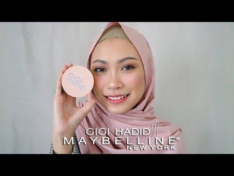 Review dan Test Ketahanan Cushion Maybelline x Gigi Hadid | Atami Puspa