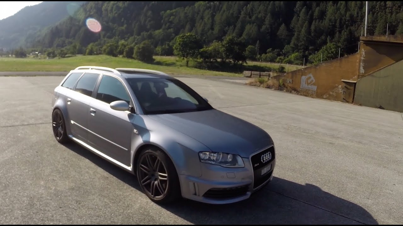 hight resolution of audi rs4 b7 2008 start up revs and acceleration sound