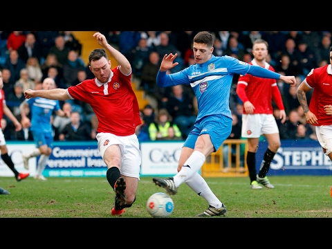 Stockport County Vs FC United Of Manchester - Match Highlights - 18.02.17