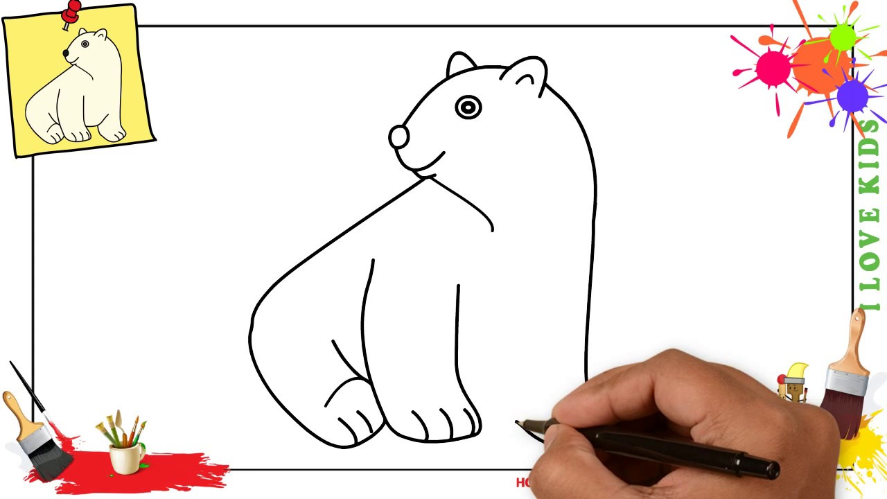 how to draw step by step drawing for kids and beginners