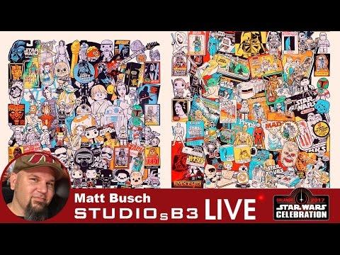 Star Wars artist interview with Matt Busch