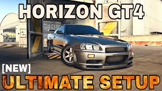 Horizon GT4 Ultimate Setup + test-drive! (Nissan Skyline R34)   CarX Drift Racing