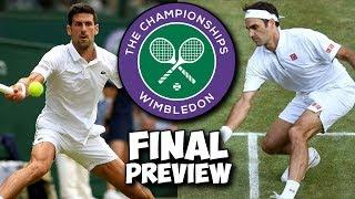 Novak DJOKOVIC vs Roger FEDERER | Wimbledon 2019 | Final Preview