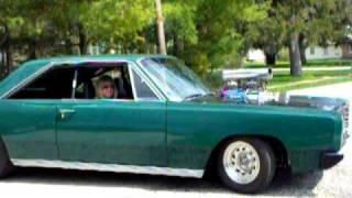 Mopar blower car Dalene 1967 fury III