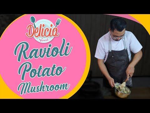 Resep Ravioli Filling Potato Mushroom