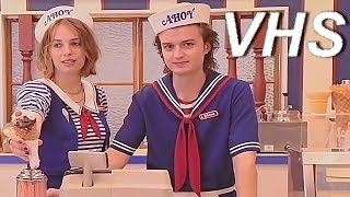 Очень странные дела - сезон 3 (трейлер) - русский и ламповый - VHSник