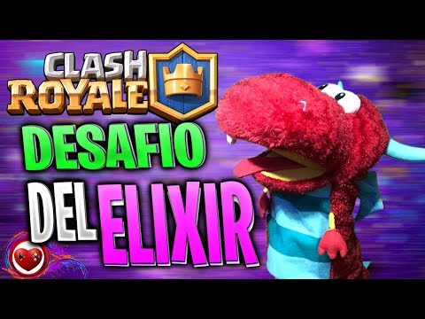 🧙♂️ DESAFÍO DEL ELIXIR ¡ACCIÓN SIN FRENOS! Clash Royale Super MaZO 19🧙♂️