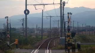 先頭展望 富山地方鉄道 電鉄富山ー立山 普通