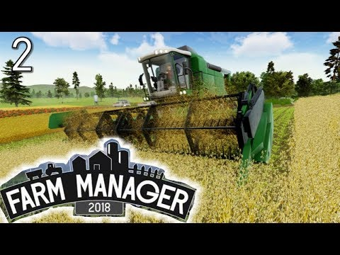 Greenhouses & Fruit Trees - FARM MANAGER 2018 GAMEPLAY #2