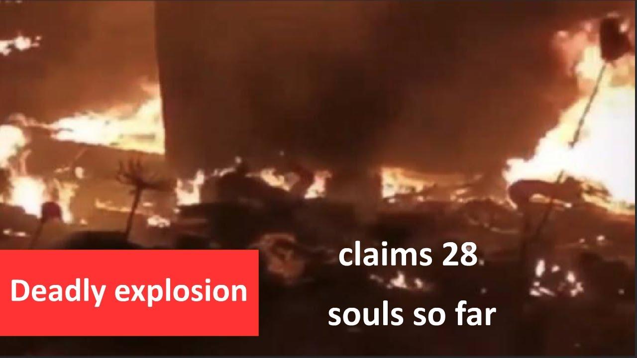 Fuel Explosion in Lebanon Kills 28