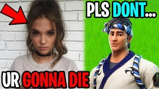 His Little Sister Called My Ex Girlfriend..(Fortnite)