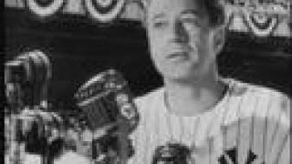 A Tribute to Lou Gehrig