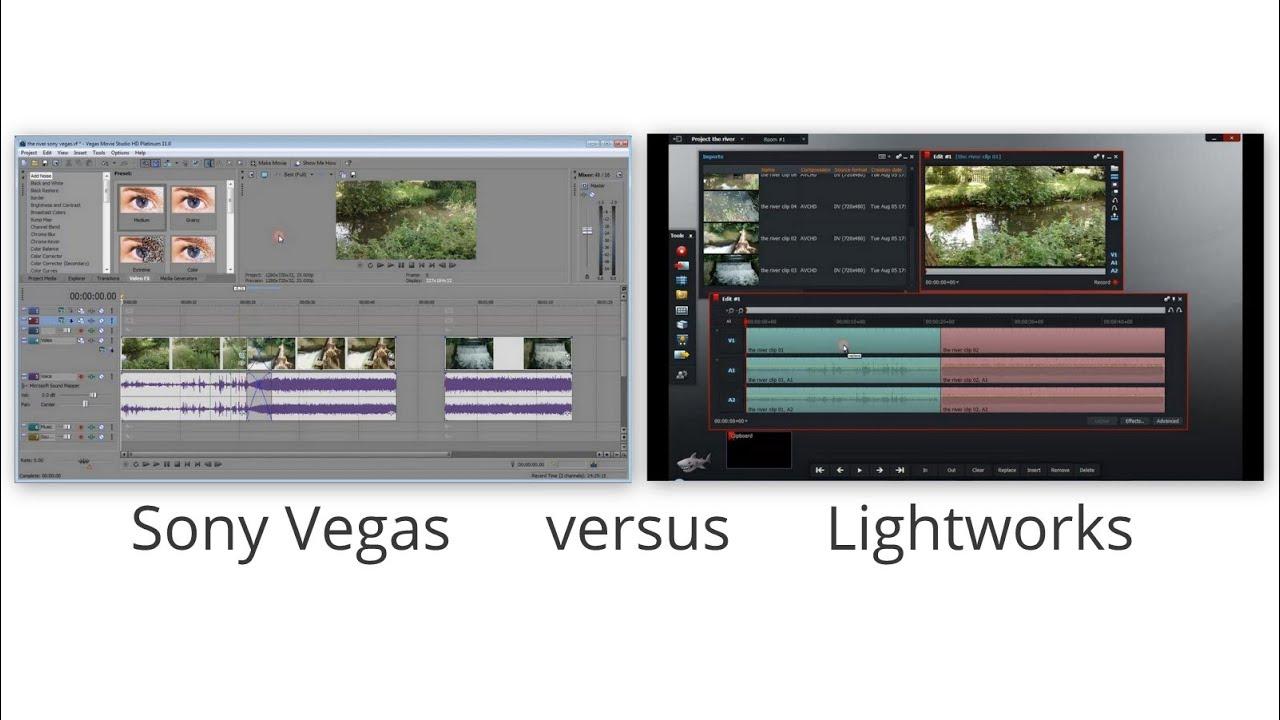 adobe vs lightworks