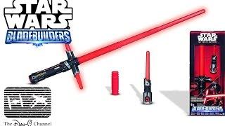 Star Wars The Force Awakens | Kylo Ren Lightsaber Review | Bladebuilders Build your own lightsaber