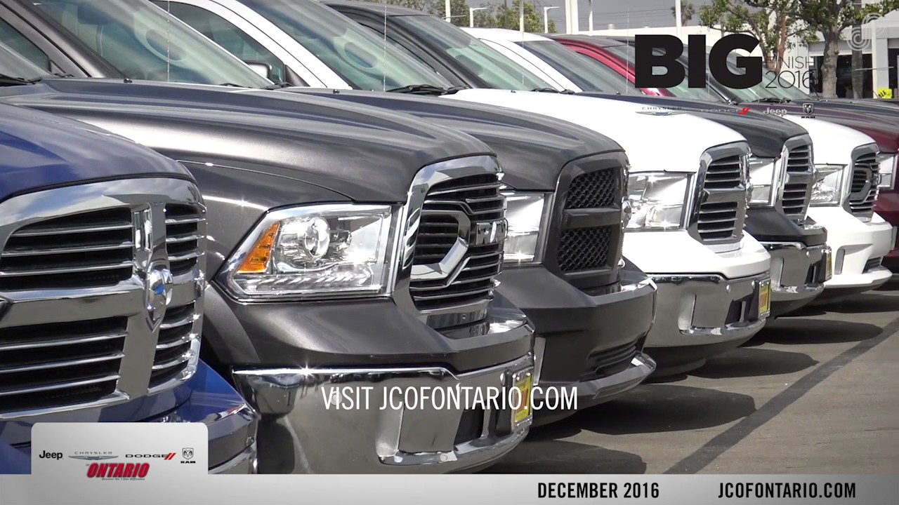 Jeep Chrysler Dodge Of Ontario December Offers SPS