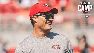 John Lynch Live During Day 2 of Joint Practices in Denver    San Francisco 49ers