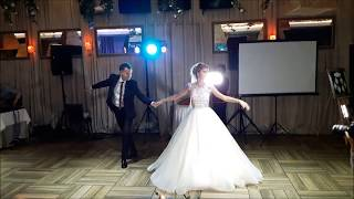 """Постановка свадебного танца """"Фигурный вальс"""""""