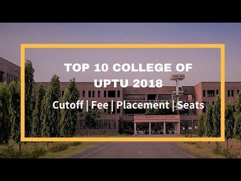 UPTU/AKTU TOP 10 COLLEGES CUTOFF | PLACEMENT | FEE | SEATS