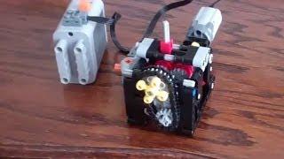 Лего Техніки: 4-Ступінчаста Механічна Коробка Передач