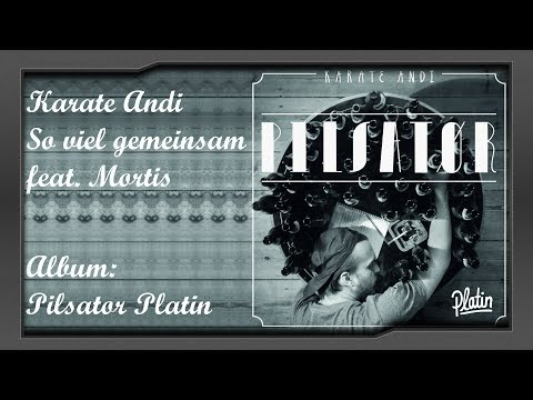 Karate Andi feat. Mortis - So viel gemeinsam | Pilsator Platin | Album-Preview