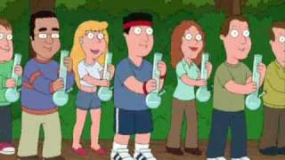 "Family Guy - Stewie and Brian sing the ""Bag of Weed Song"""