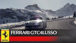 The Ferrari GTC4Lusso invades Courchevel