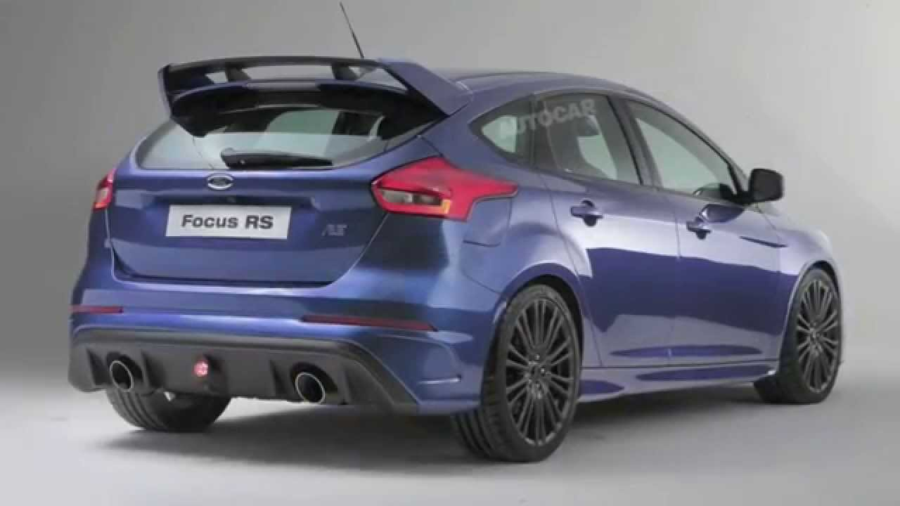 2016 Ford Focus Rs Revealed You